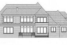 Dream House Plan - European Exterior - Rear Elevation Plan #413-121
