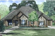European Style House Plan - 3 Beds 3.5 Baths 2340 Sq/Ft Plan #17-2496