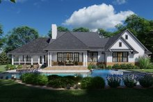 Farmhouse Exterior - Rear Elevation Plan #120-271