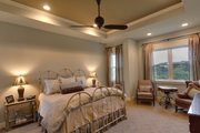 Ranch Style House Plan - 4 Beds 3.5 Baths 3258 Sq/Ft Plan #935-6 Interior - Master Bedroom