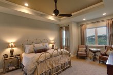 Ranch Interior - Master Bedroom Plan #935-6