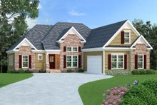 Home Plan - Traditional Exterior - Front Elevation Plan #419-112