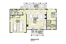 Farmhouse Floor Plan - Main Floor Plan Plan #901-132