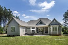 House Plan Design - Country Exterior - Rear Elevation Plan #929-610