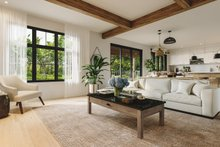 Craftsman Interior - Family Room Plan #23-2724