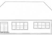 Dream House Plan - European Exterior - Rear Elevation Plan #20-1627