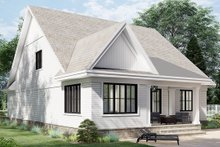 Architectural House Design - Farmhouse Exterior - Rear Elevation Plan #51-1166