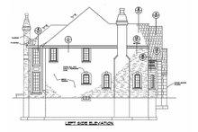 House Design - Left Side Elevation