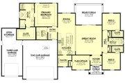 Farmhouse Style House Plan - 3 Beds 2 Baths 2002 Sq/Ft Plan #430-240 Floor Plan - Main Floor