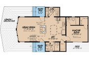 Contemporary Style House Plan - 2 Beds 2 Baths 1098 Sq/Ft Plan #923-6 Floor Plan - Main Floor