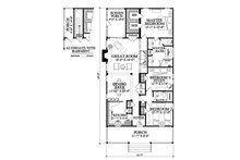 Southern Floor Plan - Other Floor Plan Plan #137-271