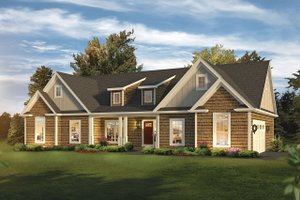 House Design - Ranch Exterior - Front Elevation Plan #57-661
