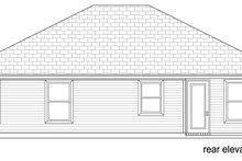 Traditional Exterior - Rear Elevation Plan #84-576