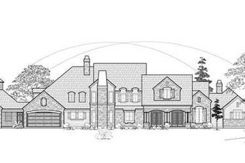 Country Exterior - Front Elevation Plan #61-185