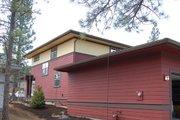 Prairie Style House Plan - 3 Beds 2.5 Baths 1977 Sq/Ft Plan #434-11 Exterior - Rear Elevation
