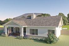 Architectural House Design - Ranch Exterior - Rear Elevation Plan #489-12