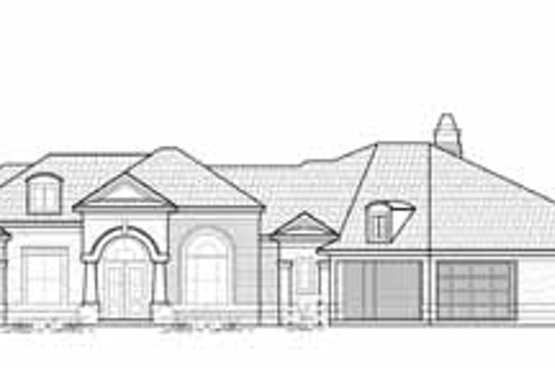 Exterior - Front Elevation Plan #61-262 - Houseplans.com