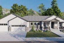 House Design - Ranch Exterior - Front Elevation Plan #1060-99