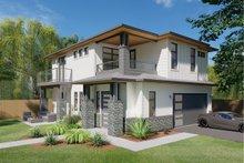 House Design - Prairie Exterior - Front Elevation Plan #126-225