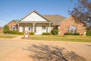 Ranch Exterior - Front Elevation Plan #65-482