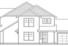 Dream House Plan - Exterior - Other Elevation Plan #124-815