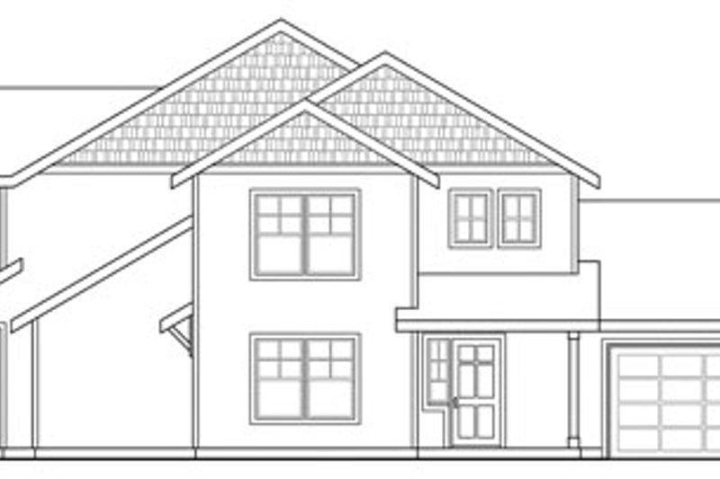 Exterior - Other Elevation Plan #124-815 - Houseplans.com