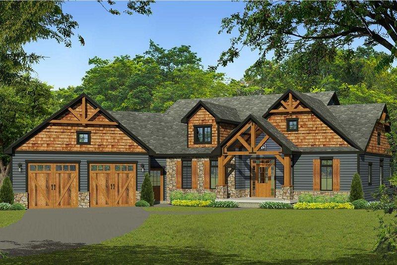 House Design - Craftsman Exterior - Front Elevation Plan #1010-230