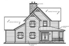 House Design - Country Exterior - Other Elevation Plan #23-420