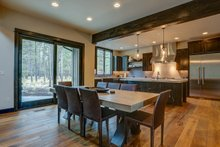 Dream House Plan - Craftsman Interior - Dining Room Plan #892-28