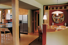 Modern Interior - Family Room Plan #573-1