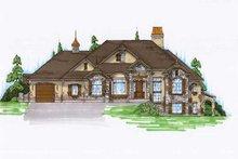 House Plan Design - European Exterior - Front Elevation Plan #5-276