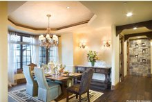 Home Plan - Dining Room - 4000 square foot European home