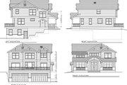 Craftsman Style House Plan - 5 Beds 3 Baths 2615 Sq/Ft Plan #100-437