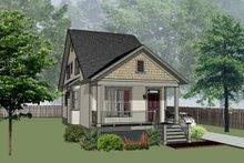 Cottage Exterior - Front Elevation Plan #79-176