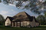 European Style House Plan - 4 Beds 3 Baths 2071 Sq/Ft Plan #923-28
