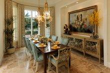Mediterranean Interior - Dining Room Plan #930-508