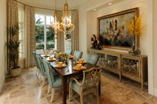 Dream House Plan - Mediterranean Interior - Dining Room Plan #930-508