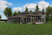 Dream House Plan - Contemporary Exterior - Other Elevation Plan #48-1005