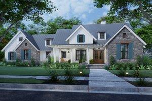Farmhouse Exterior - Front Elevation Plan #120-270