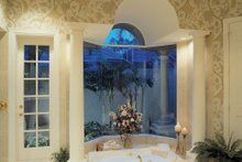 House Design - Mediterranean Interior - Master Bathroom Plan #930-100