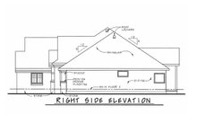 House Plan Design - European Exterior - Other Elevation Plan #20-2128