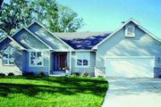 House Plan - 3 Beds 2 Baths 1993 Sq/Ft Plan #320-350 Exterior - Front Elevation