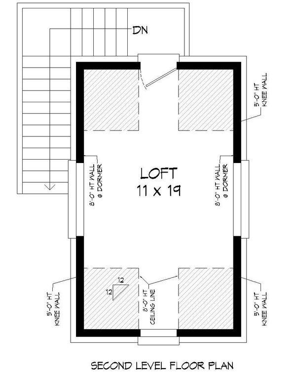 Country Floor Plan - Upper Floor Plan Plan #932-302