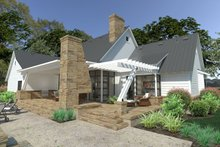 Dream House Plan - Farmhouse Exterior - Rear Elevation Plan #120-253