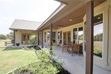 Home Plan - Traditional Exterior - Covered Porch Plan #80-173