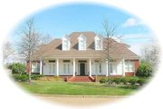 Southern Style House Plan - 5 Beds 4 Baths 4569 Sq/Ft Plan #81-1648 Exterior - Front Elevation