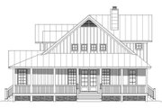 Farmhouse Style House Plan - 3 Beds 2.5 Baths 2400 Sq/Ft Plan #932-137 Exterior - Other Elevation