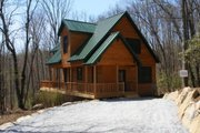 Cabin Style House Plan - 2 Beds 2 Baths 1154 Sq/Ft Plan #118-102