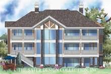 House Plan Design - Country Exterior - Rear Elevation Plan #930-136