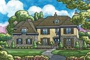 European Style House Plan - 5 Beds 7 Baths 7004 Sq/Ft Plan #20-2167